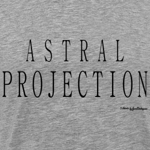 Astral Projection v2 T Shirts - Black T-Shirts - Men's Premium T-Shirt