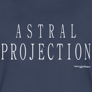 Astral Projection v2 T Shirts - White T-Shirts - Women's Premium T-Shirt