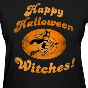 Happy Halloween Witches T-Shirts - Women's T-Shirt