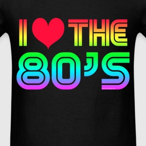 I Love the 80s Gaming T-Shirts - Men's T-Shirt