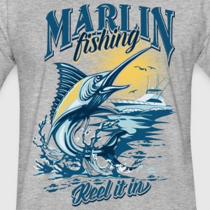 MARLIN T-Shirts - Fitted Cotton/Poly T-Shirt by Next Level