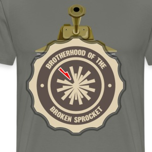 Brotherhood of the Broken Sprocket - Men's Premium T-Shirt