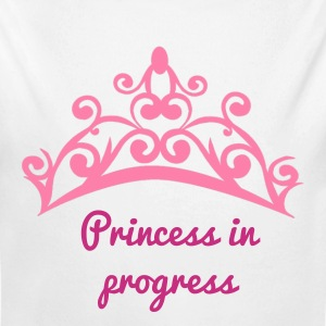 Princess in progress - Long Sleeve Baby Bodysuit