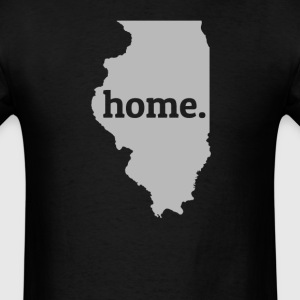 Illinois Is My Home T-Shirt T-Shirts - Men's T-Shirt