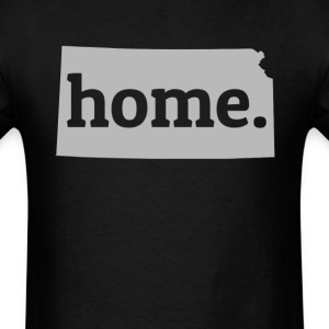 Kansas Is My Home T-Shirt T-Shirts - Men's T-Shirt