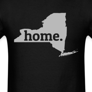 New York Is My Home T-Shirt T-Shirts - Men's T-Shirt