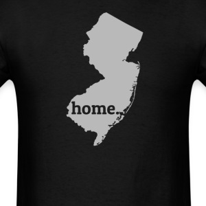 New Jersey Is My Home T-Shirt T-Shirts - Men's T-Shirt