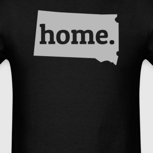 South Dakota Is My Home T-Shirt T-Shirts - Men's T-Shirt