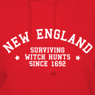 Design ~ New England - Surviving Witch Hunts since 1692