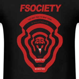 MrRobot Fsociety season2 T-Shirts - Men's T-Shirt