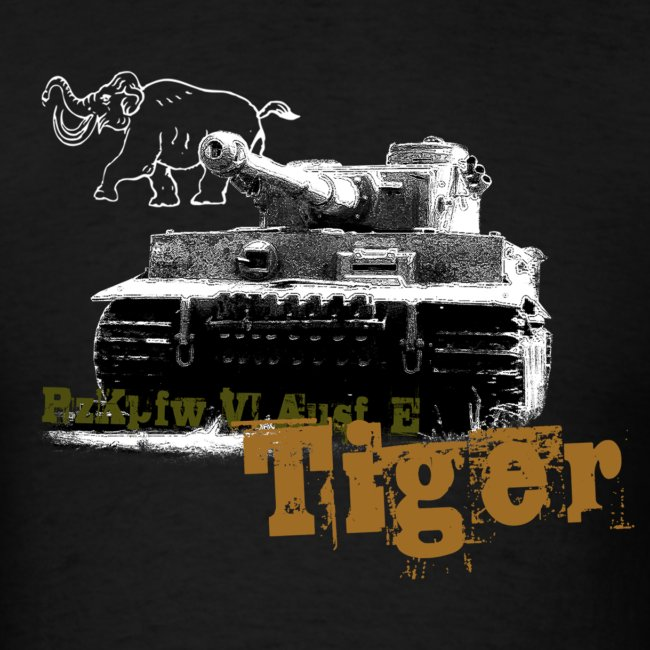 Tiger I Armor Journal t-shirt