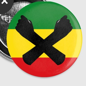 Ethio-Unity Button (Flag) - Small Buttons