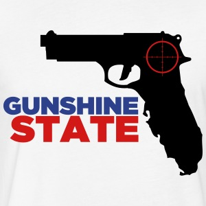 Gunshine State T-Shirts - Fitted Cotton/Poly T-Shirt by Next Level
