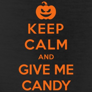 Keep Calm Give Me Candy - Funny Halloween Bottoms - Leggings