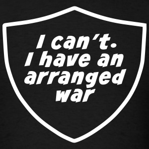 Arranged Wars - Men's T-Shirt