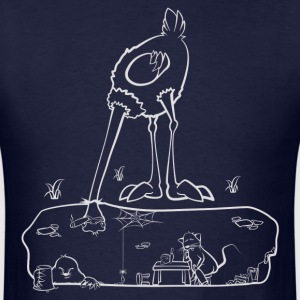 The Ostrich - Men's T-Shirt
