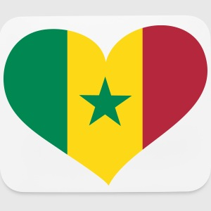 Senegal Heart; Love Senegal Other - Mouse pad Horizontal