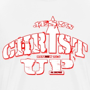 JESUS CHRIST UP - Men's Premium T-Shirt