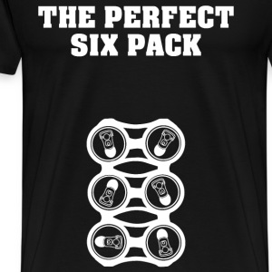 Beer lover T - shirt - The perfect six pack - Men's Premium T-Shirt