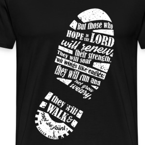 Hope in the Lord - Renew their strength - Men's Premium T-Shirt