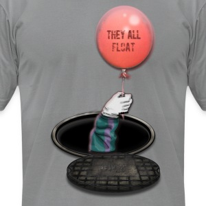 They All Float Men Shirt By American Apparel - Men's T-Shirt by American Apparel