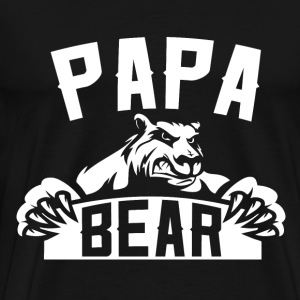 Papa - Freaking awesome t-shirt for papa bear - Men's Premium T-Shirt