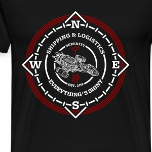 Shipping logistics Serenity shipping and logistics - Men's Premium T-Shirt