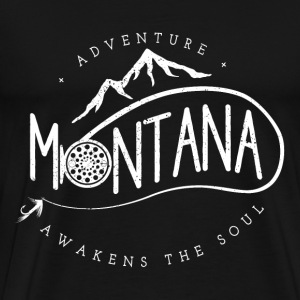 Mountain bike - Adventure montana awakens the soul - Men's Premium T-Shirt