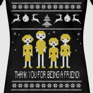 The Golden Girls Thanks for being a friend sweater - Women's Premium T-Shirt