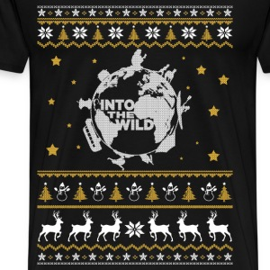 The wild - Into the wild awesome christmas sweater - Men's Premium T-Shirt