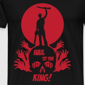 HAIL TO THE KING - Men's Premium T-Shirt