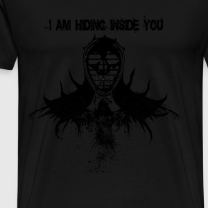 Kendo - I am hiding inside you awesome t-shirt - Men's Premium T-Shirt