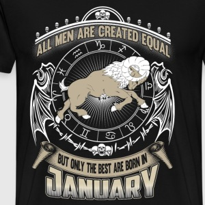Capricornus - The best men are born in Capricornus - Men's Premium T-Shirt
