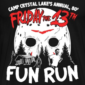Fun Run at Camp Crystal Lake - halloween - Men's Premium T-Shirt