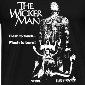 The wicker man - Flesh to touch Flesh to burn tee - Men's Premium T-Shirt