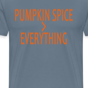 pumpkin_spice_everything_ - Men's Premium T-Shirt