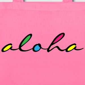 ALOHA colourful Bags & backpacks - Tote Bag