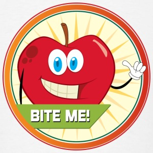 Bite me Apple - Men's T-Shirt