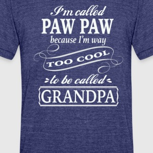Paw Paw - Unisex Tri-Blend T-Shirt by American Apparel