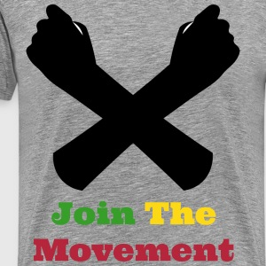 Ethio-UnityTshirt Men (Join The Movement) - Men's Premium T-Shirt