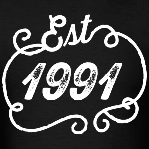 1991 Birthday Birth Year T-Shirts - Men's T-Shirt