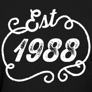 1988 Birthday Birth Year T-Shirts - Women's T-Shirt