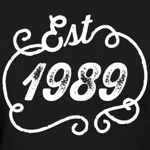 1989 Birthday Birth Year T-Shirts - Women's T-Shirt