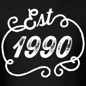 1990 Birthday Birth Year T-Shirts - Men's T-Shirt