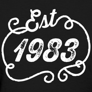 1983 Birth Year Birthday T-Shirts - Women's T-Shirt