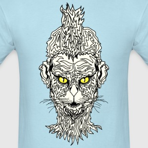 CAT MAN WITH EAGLE EYES GRAPHIC TEE - Men's T-Shirt