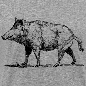 Boar - Men's Premium T-Shirt