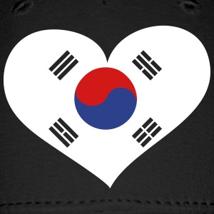 South Korea Heart; Love South Korea Sportswear - Baseball Cap