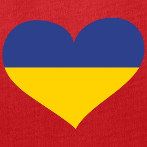 Ukraine Heart; Love Ukraine Bags & backpacks - Tote Bag