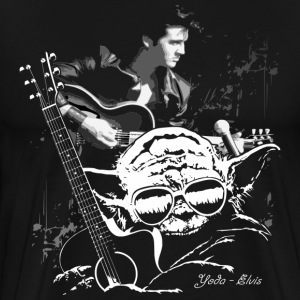 Yoda - Elvis - Men's Premium T-Shirt